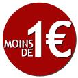 Tout à moins de 1 €uro