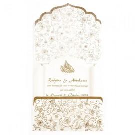 Faire-Part mariage - En fibre de soie