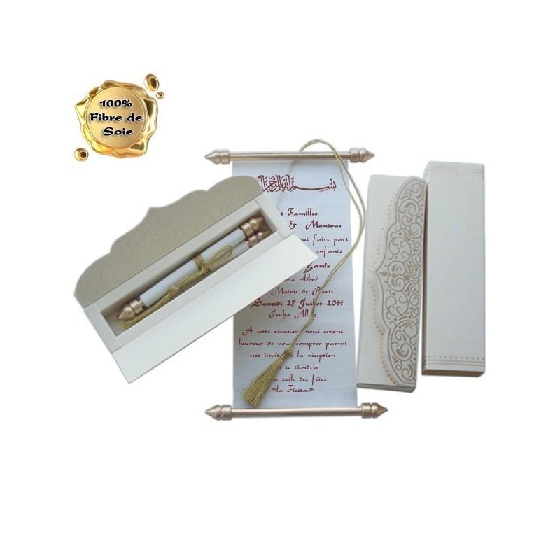 Souleyman OR - Vendu avec tous ses éléments : boite + parchemin + lien doré