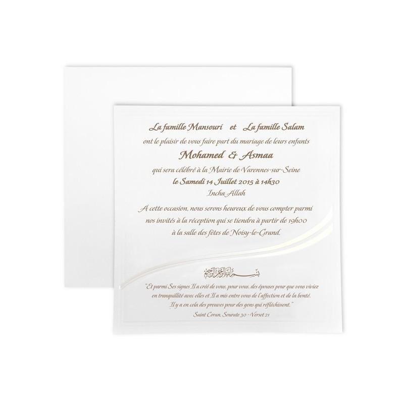 Amira - Carte + Enveloppe