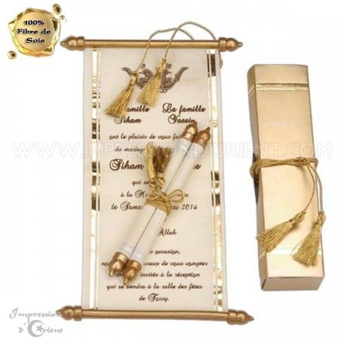 Idriss - Vendu avec tous les éléments : boite + lien doré + parchemin