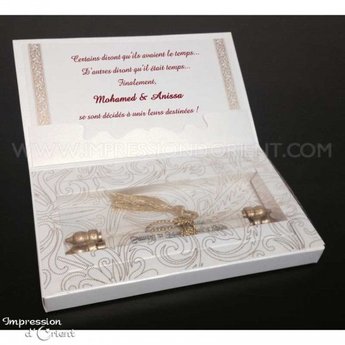 Dalil Doré - Vendu avec tous ses éléments : boite + enveloppe + parchemin + lien doré