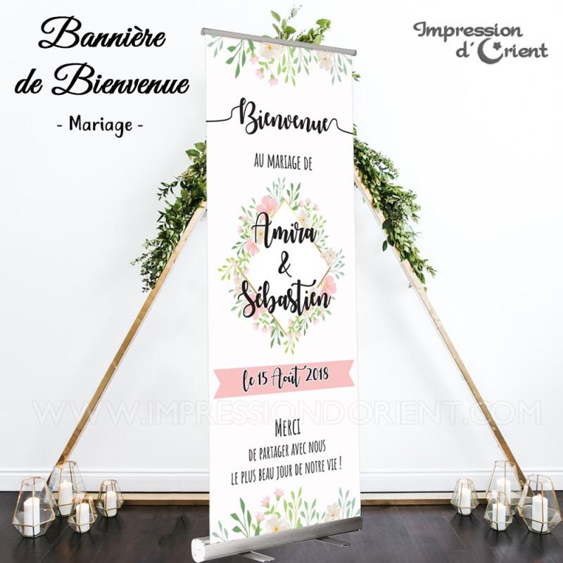 """Bannière de bienvenue """"Boheme Chic"""""""