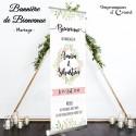 """Bannière de bienvenue """"Bohème Chic"""""""