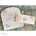 Faire part mariage - Shabby chic