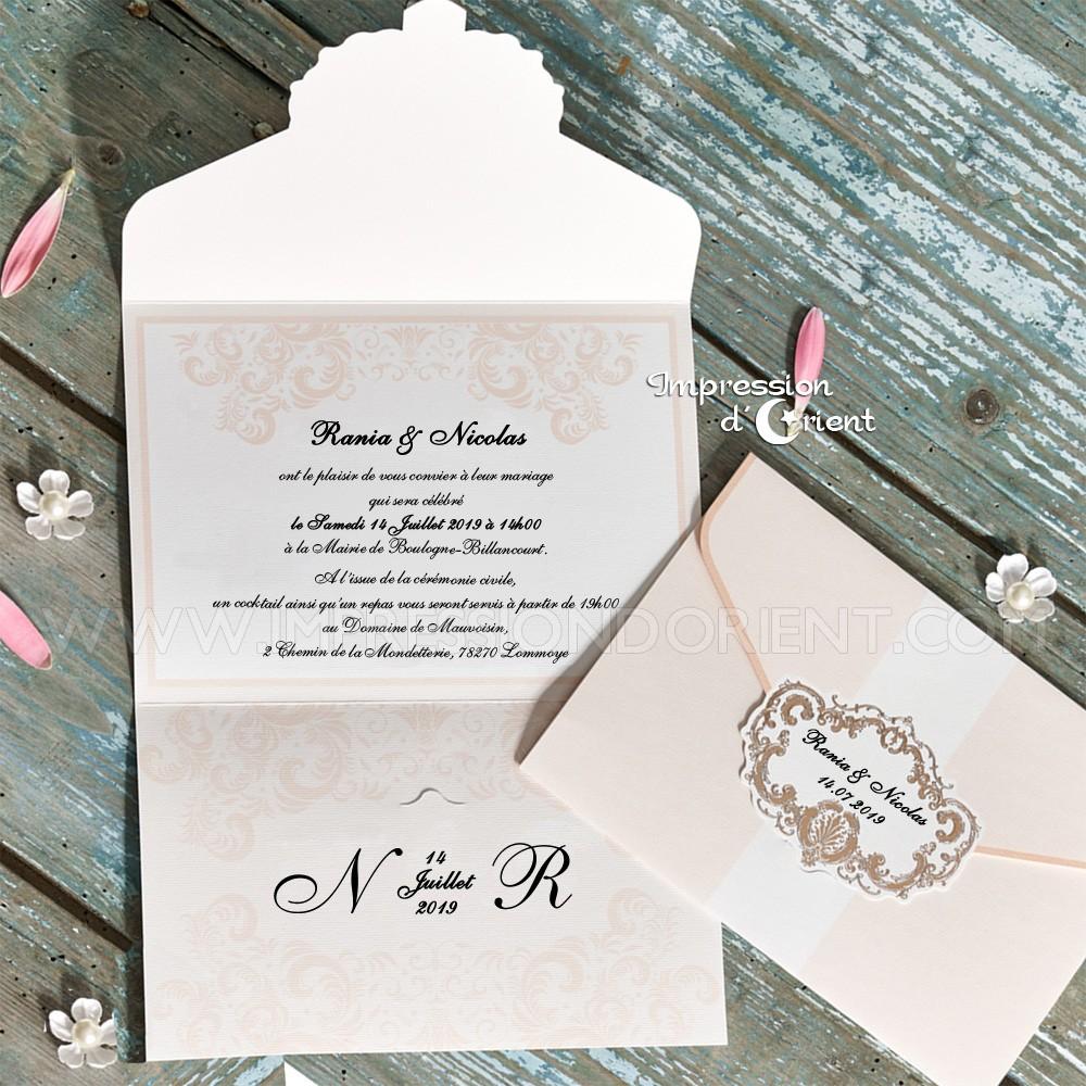 Carte anniversaire de mariage jade