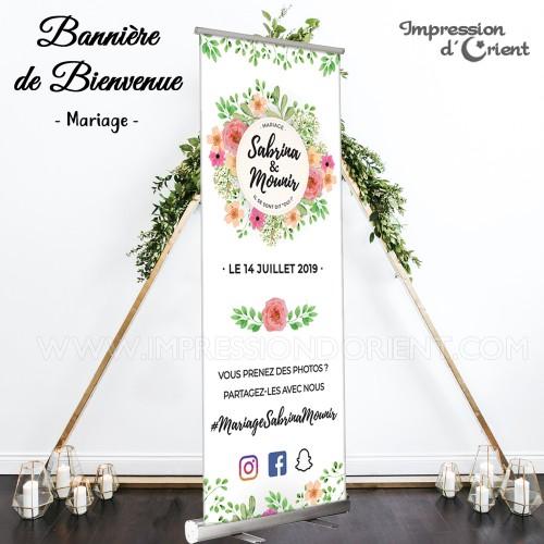 Bannière Florale