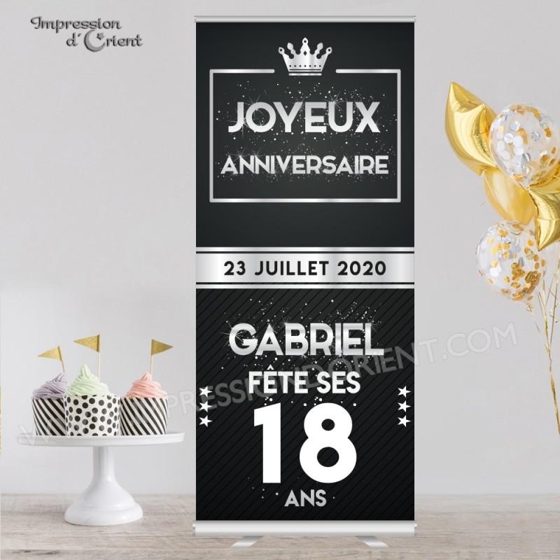 """Bannière de bienvenue """"Gabriel"""""""