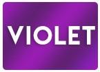 Faire-part mariage VIOLET, VIOLINE, LAVANDE