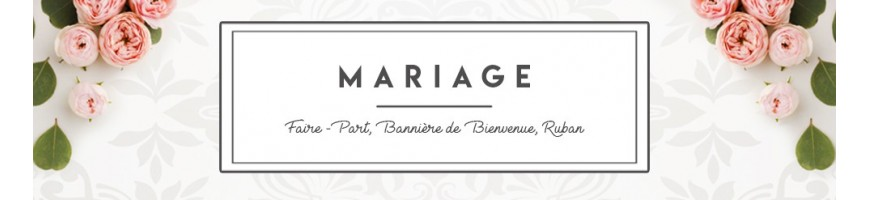 WEDDING - Announcements, Welcome Banner, Ribbon, Dragées Box