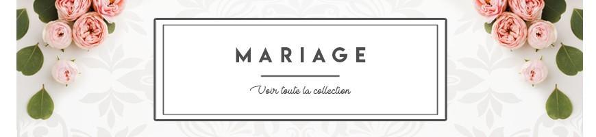 Voir tout les produits dans la catégorie MARIAGE