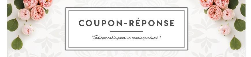 Coupon-Réponse et carte de remerciement