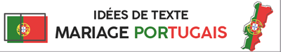 Texte invitation faire-part mariage portugais Portugal