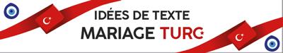 Texte invitation mariage turc Turquie