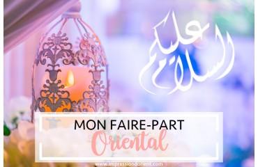Mi invitación de estilo árabe